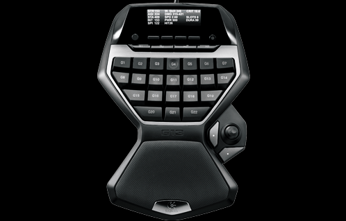 Logitech G13 keypad gameboard