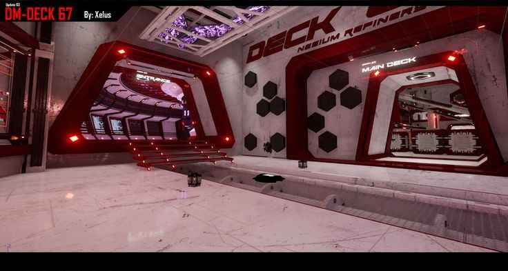 Unreal Tournament 4 Deck 67
