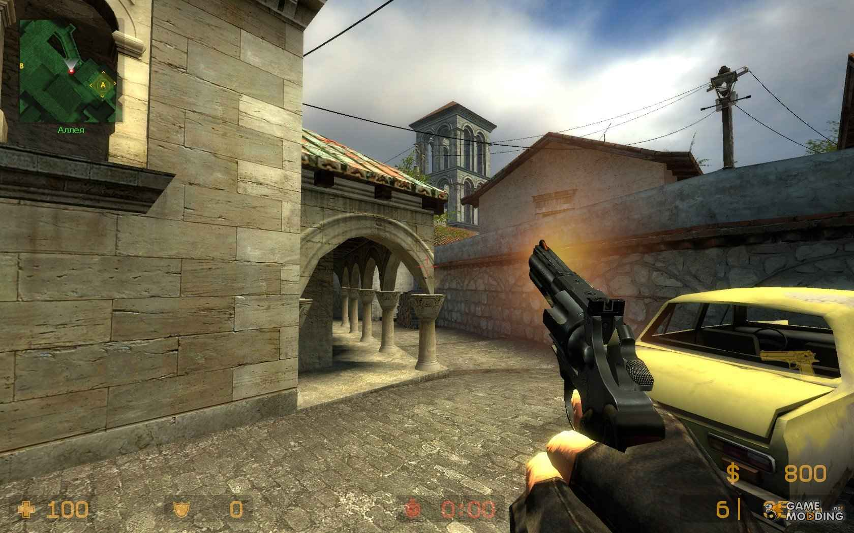 Counter Strike Global Offensive revolver