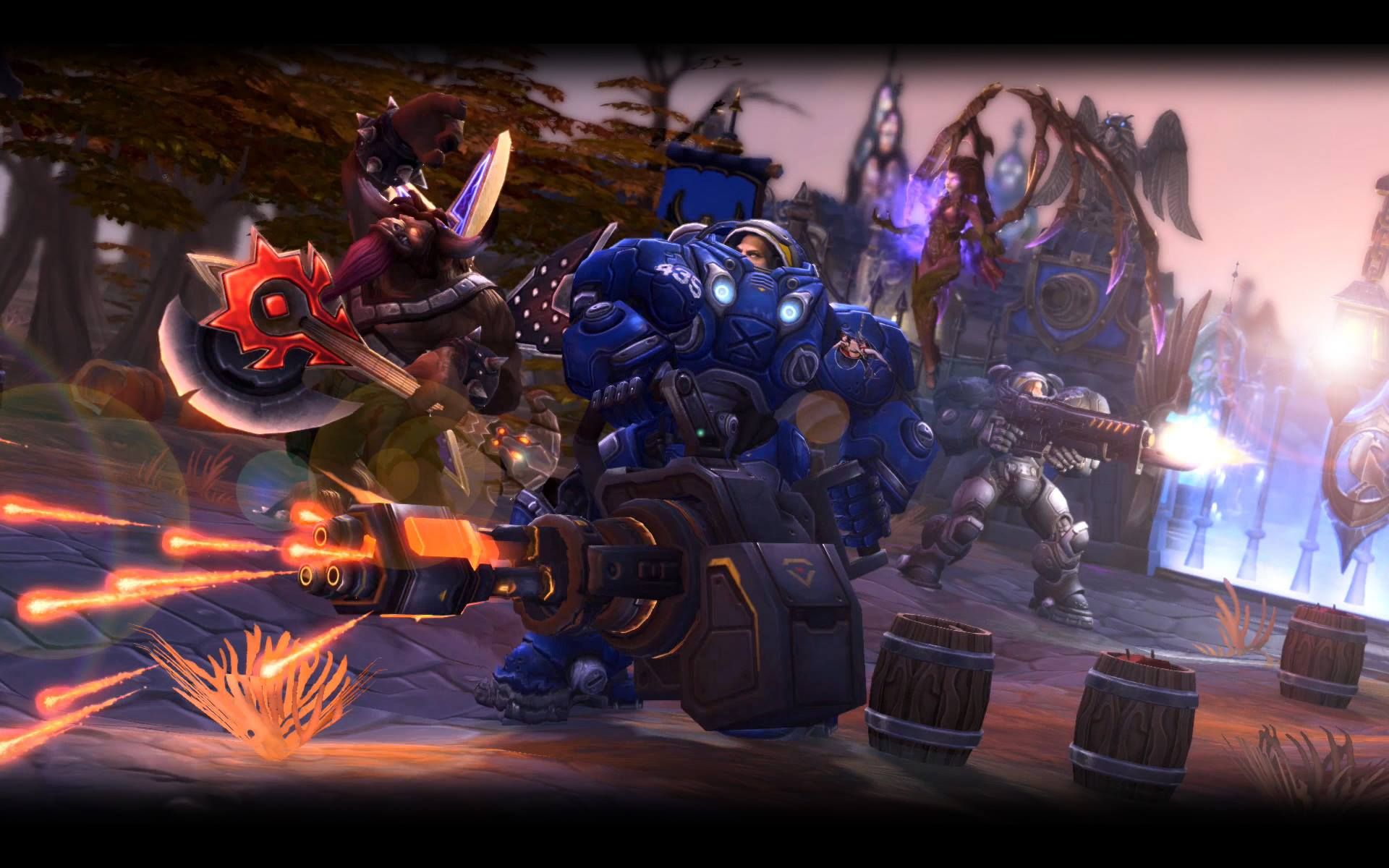besplatan heroes of the storm