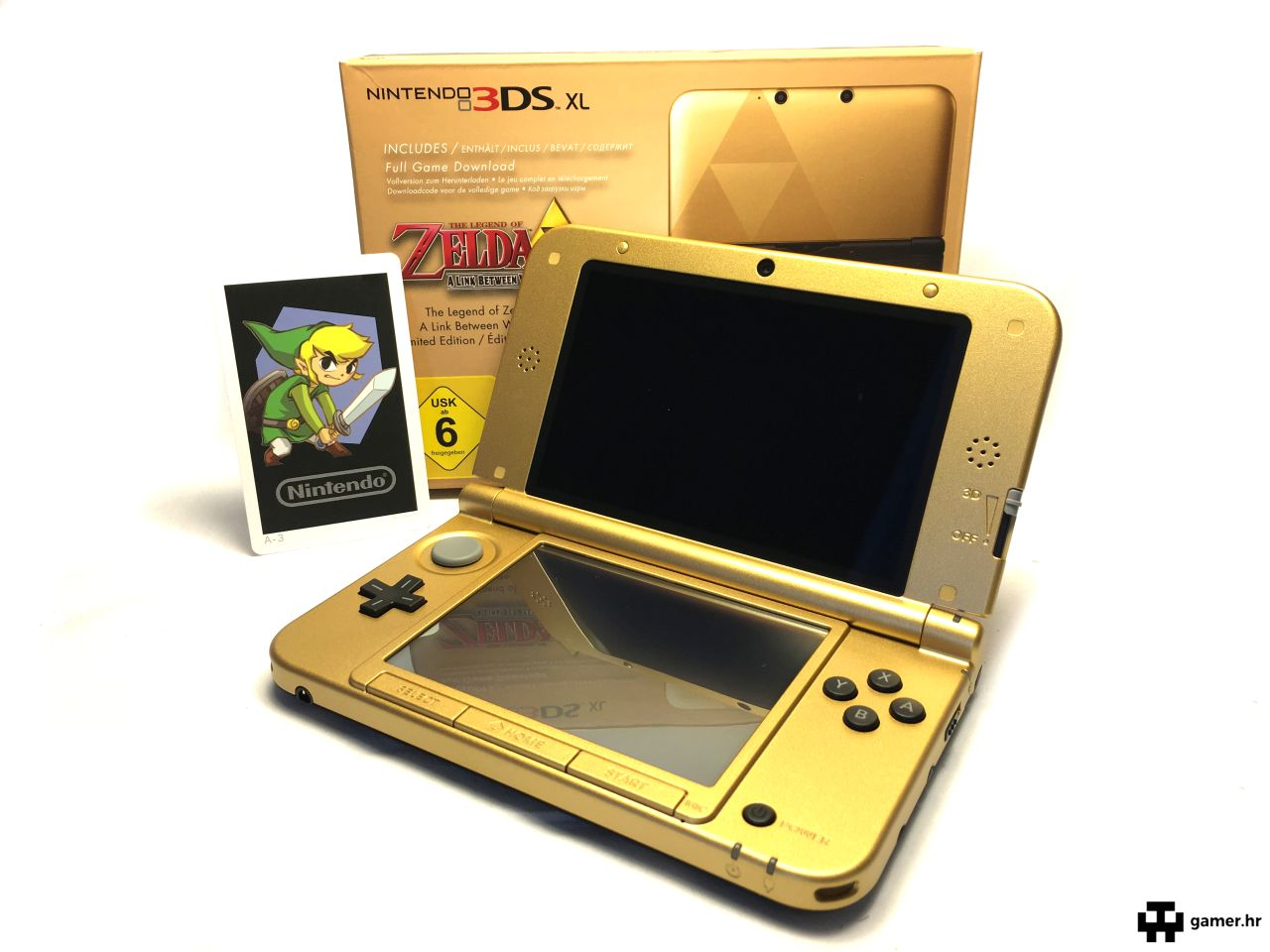 Recenzija: NINTENDO 3DS XL – The Legend of Zelda Limited Edition