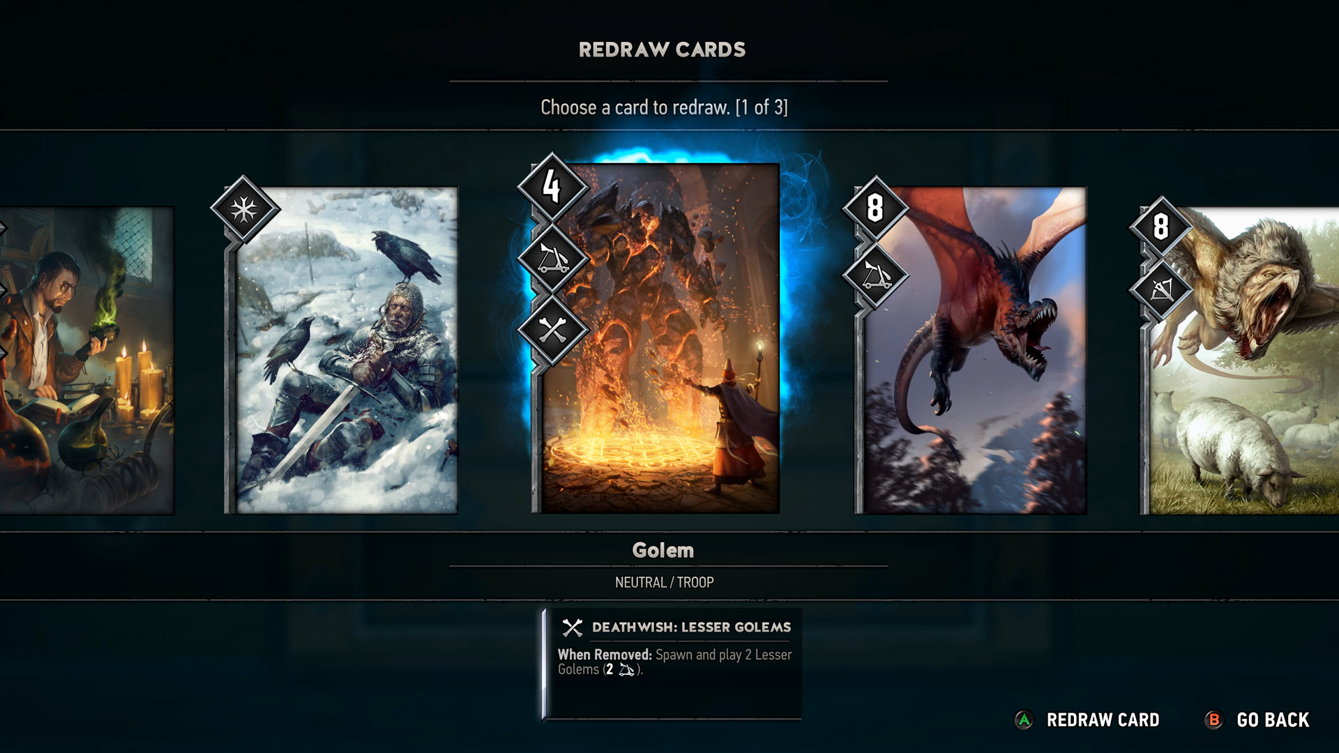 gwent: the witcher card game beta