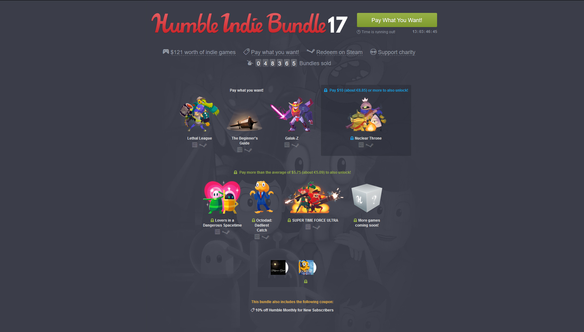 humble indie bundle 17