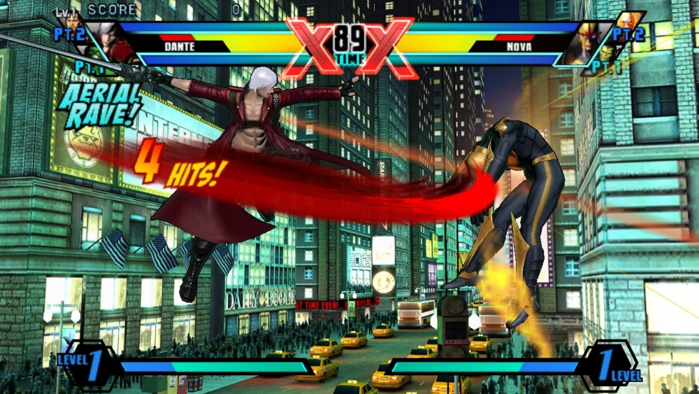 marvel vs capcom 4 a