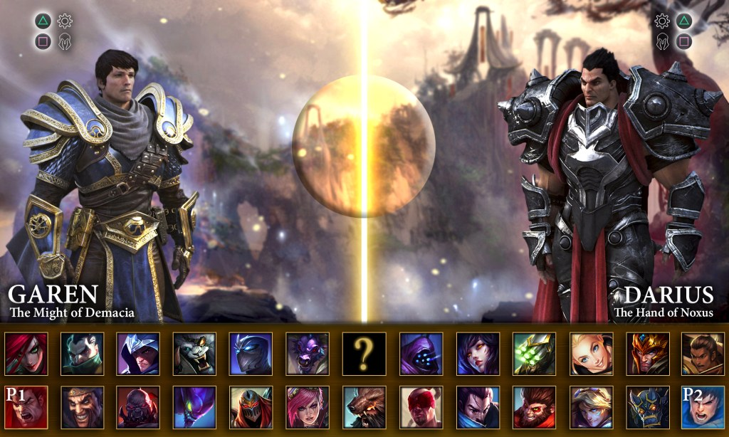 league of legends fighting game