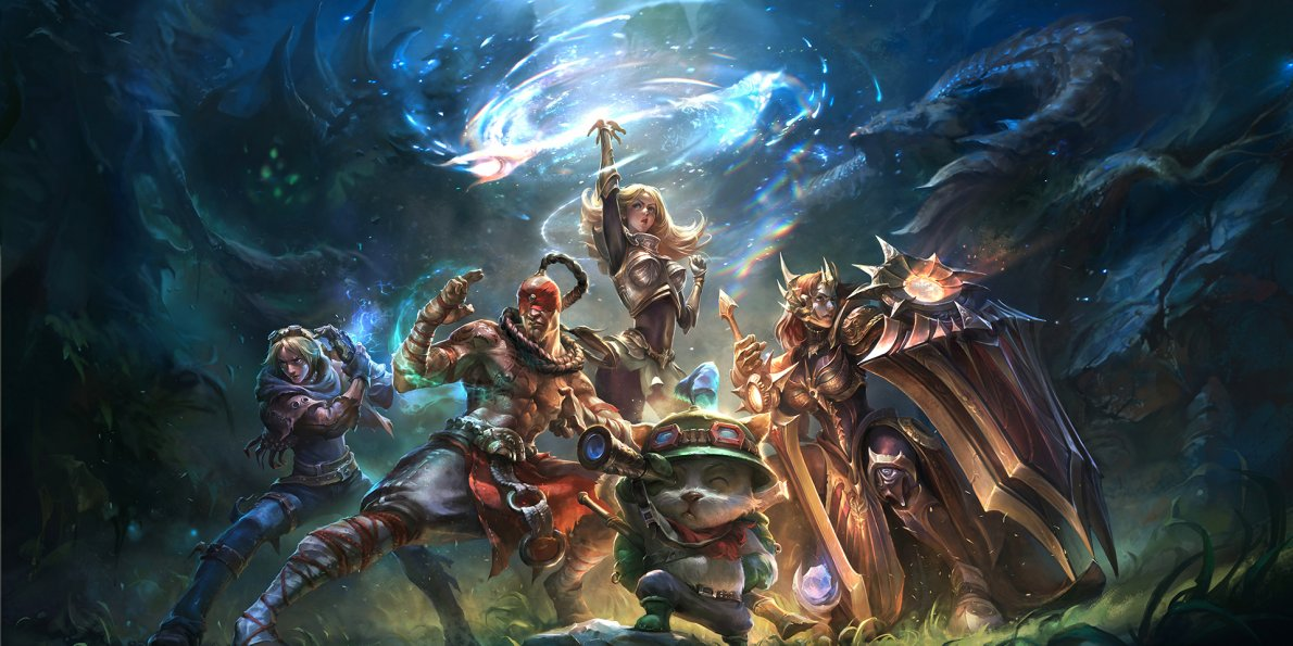 league of legends fighting