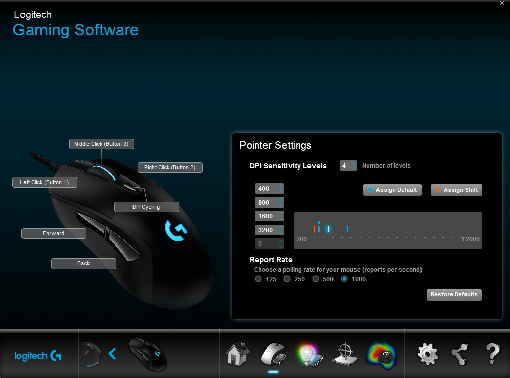 logitech g403 gaming software 2