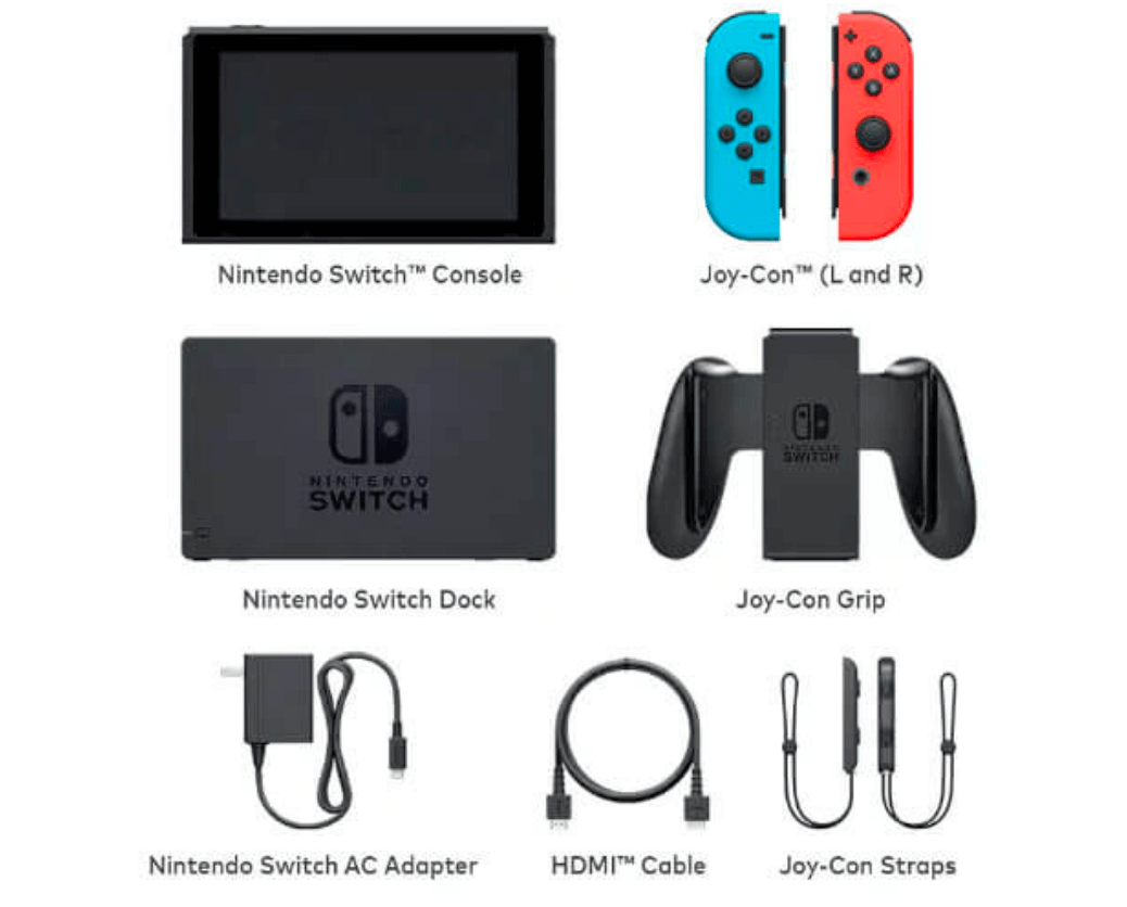 nintendo Switch pakiranje