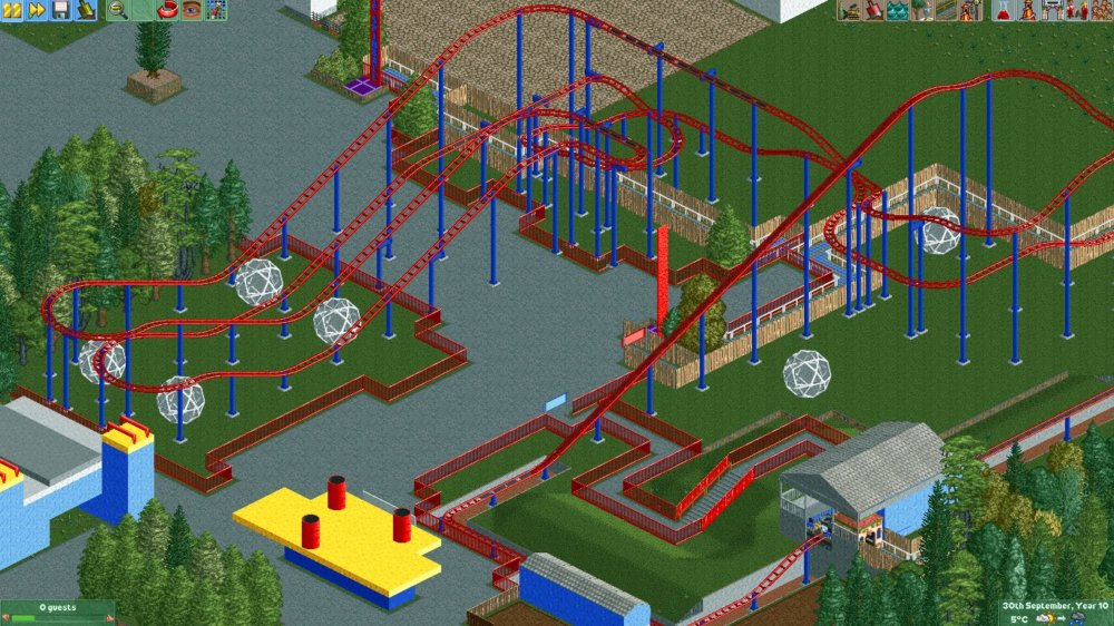 rct2 10 years park 1