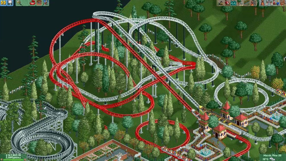 rct2 10 years park 2