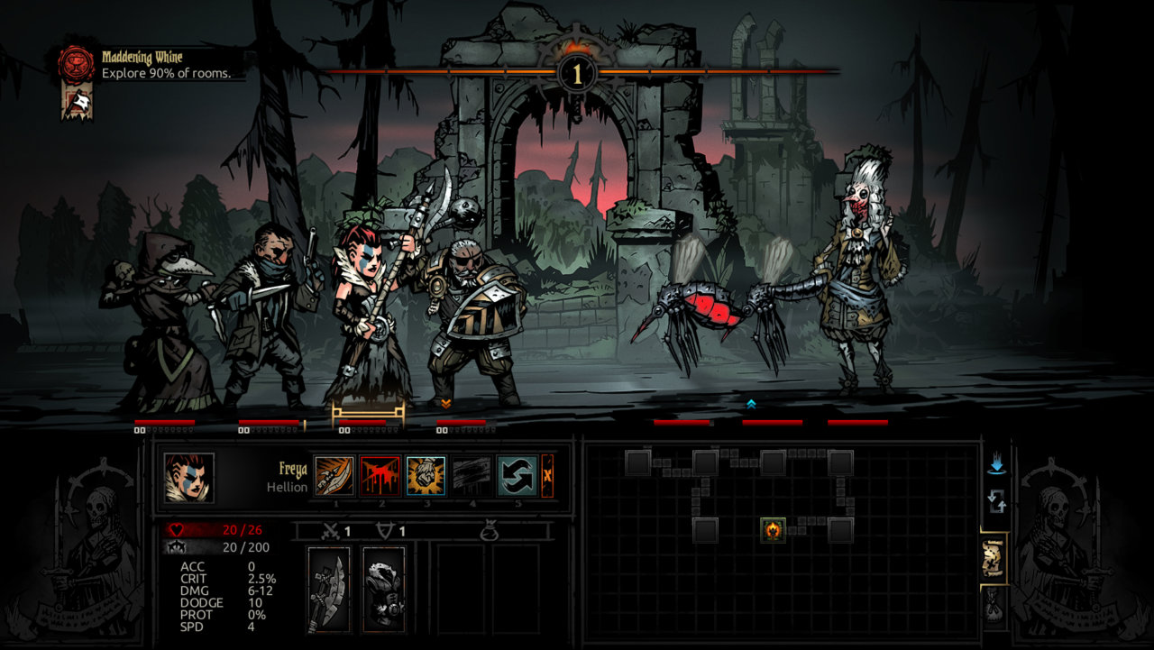 darkest dungeon: the crimson court pc